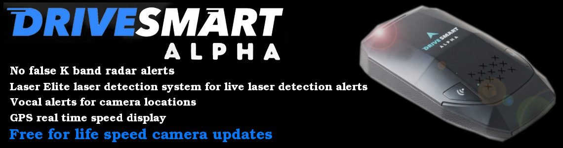Drivesmart Alpha Speed Camera Detector. Purchase Here.