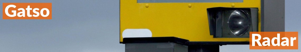 Gatso Radar Speed Camera On The Motorway