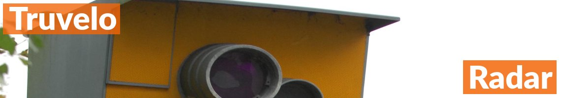 Truvelo Radar Speed Camera On The Motorway