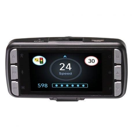 Drivesmart Pro HD Speed Camera Detector / Dash Cam Hybrid